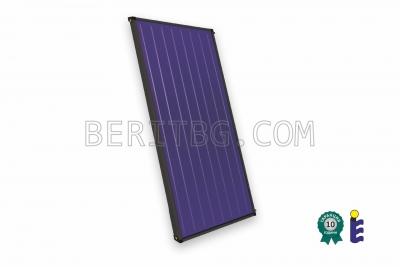 Слънчев колектор GreenEcoTherm T25US, селективен, 2.56 m2, Blue