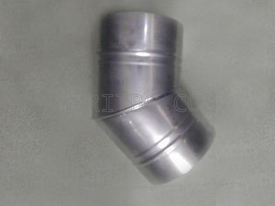 Кюнец коляно ф 130/45 Неръждаема ламарина